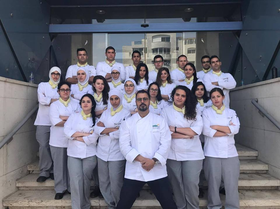 Master Chef Tareq Ibrahim from Egypt presenting a Meat Master workshop to RACA students