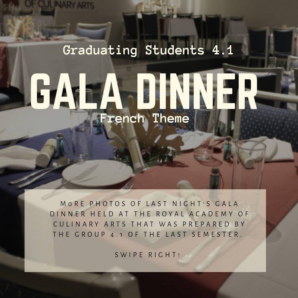 Gala Dinner 4.1 – February 2019