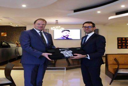 Belgium Ambassador Visits RACA