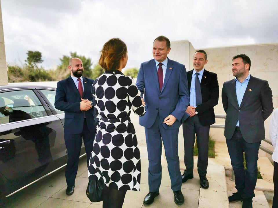 The Minister of Industry and Trade of Norway Visit