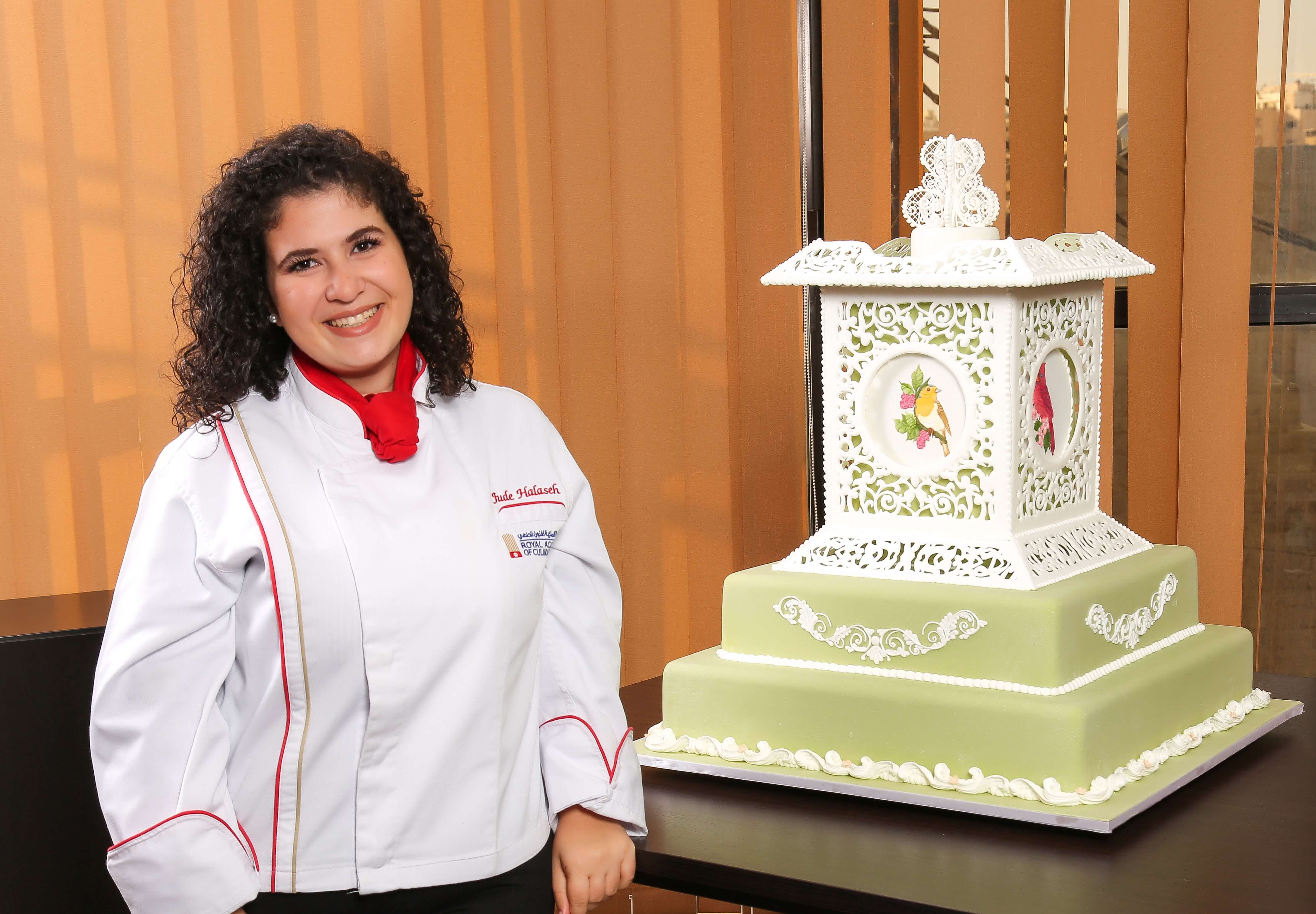 """RACA student has been awarded as """"Highly Commended 4th place"""" in the Cake International Virtual Competition"""