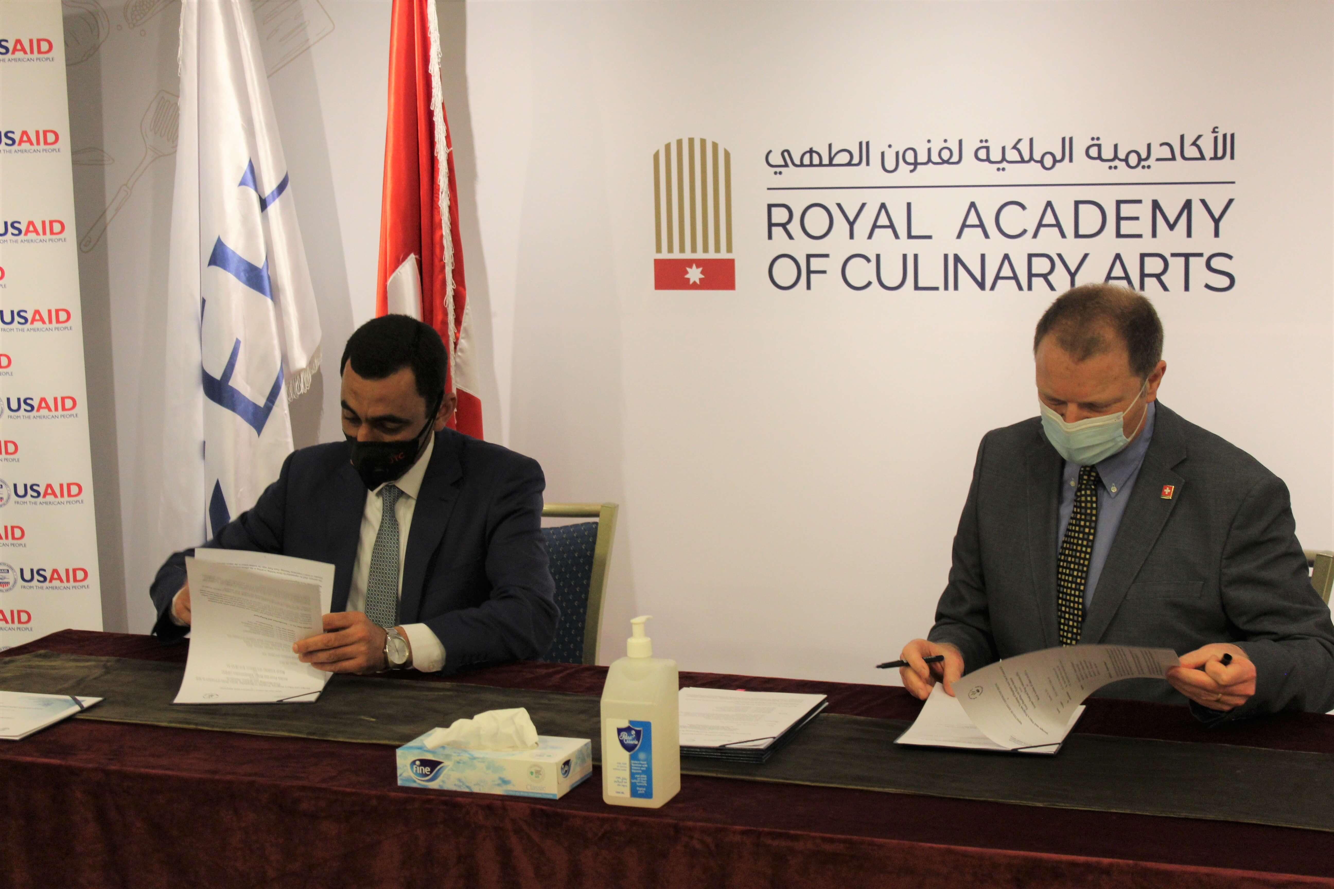 """RACA hosted the launching ceremony of issuing the guideline for """" Safe Food Handling and Hygiene Standards """""""